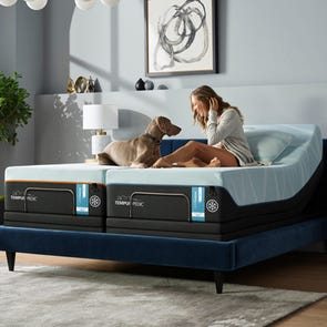Split Cal King Tempurpedic Tempur Luxe Breeze Firm 13.2 Inch Mattress + FREE $300 Visa Gift Card