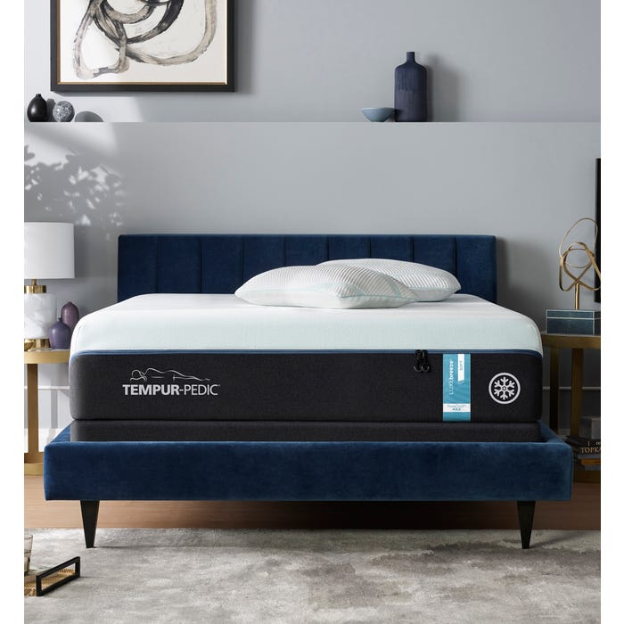 Surprising King Tempurpedic Tempur Luxe Breeze Soft 13 2 Inch Mattress Creativecarmelina Interior Chair Design Creativecarmelinacom