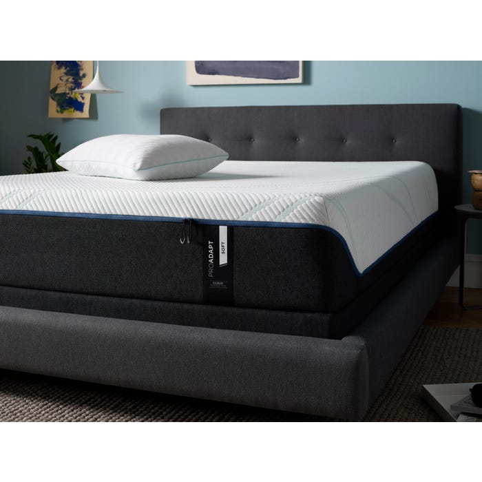 new product a9a64 70183 Tempur-Pedic Pro Adapt 12 inch Soft Tight Top Mattress Queen Size + FREE  $300 Visa Gift Card
