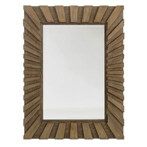 Hooker Furniture Arbor Hill Jewelry Storage Floor Mirror in Brown Gesso
