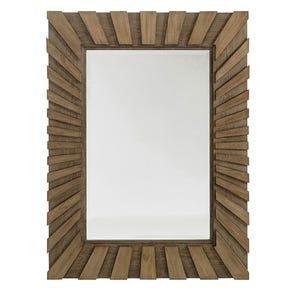 Hooker Furniture Arbor Hill Jewelry Storage Floor Mirror in Brown Gesso