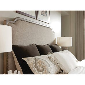 Tommy Bahama Cypress Point Stone Harbour Upholstered Cal King Headboard Only