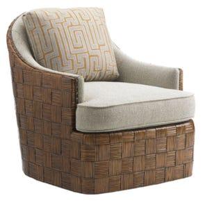 Tommy Bahama Island Fusion Nagano Swivel Chair