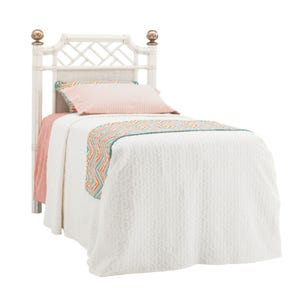 Tommy Bahama Ivory Key Pritchards Bay King Size Panel Headboard