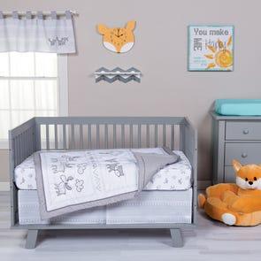 Trend Lab Aztec Forest 3 Piece Crib Bedding Set