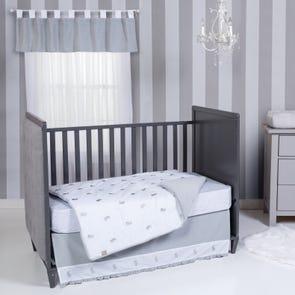Trend Lab Bunnies 3 Piece Crib Bedding Set