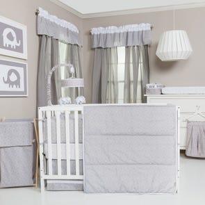 Trend Lab Circles 3 Piece Crib Bedding Set