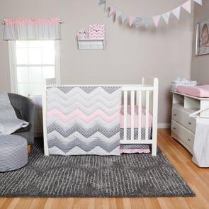 Trend Lab Cotton Candy 3 Piece Crib Bedding Set