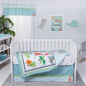 Trend Lab Dinosaur Roar 3 Piece Crib Bedding Set