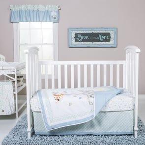Trend Lab Forest Tales 6 Piece Crib Bedding Set