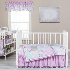 Trend Lab Grace 5 Piece Crib Bedding Set