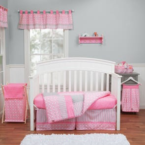 Trend Lab Lily 3 Piece Crib Bedding Set