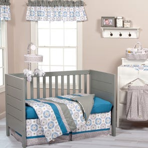 Trend Lab Monaco 3 Piece Crib Bedding Set