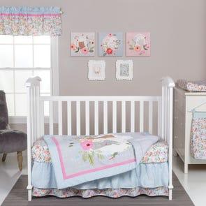 Trend Lab My Little Friends 6 Piece Crib Bedding Set