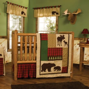 Trend Lab Northwoods 3 Piece Crib Bedding Set