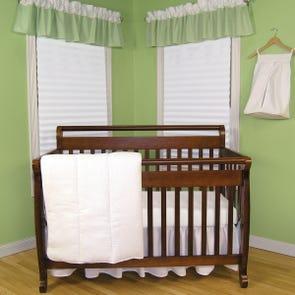 Trend Lab Pique White 3 Piece Crib Bedding Set