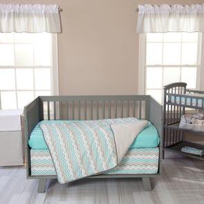 Trend Lab Seashore Waves 3 Piece Crib Bedding Set