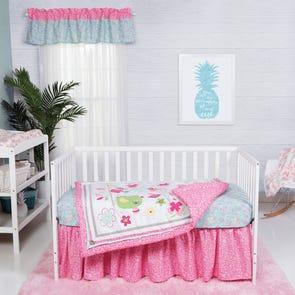 Trend Lab Tropical Tweets 3 Piece Crib Bedding Set