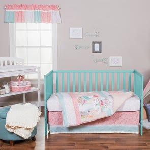 Trend Lab Wild Forever 3 Piece Crib Bedding Set