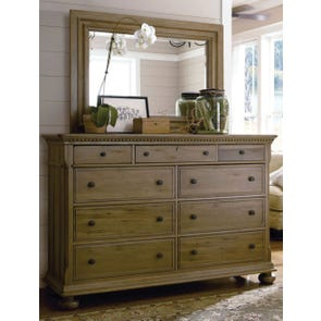 Paula Deen Down Home Aunt Peggy's Dresser in Oatmeal Finish