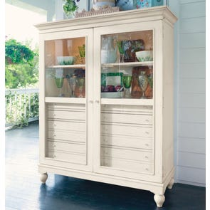 Paula Deen Home The Bag Lady's Cabinet in Linen Finish