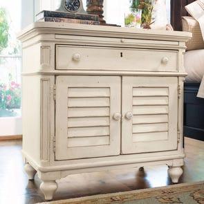 Paula Deen Home Door Nightstand in Linen Finish