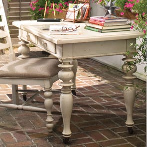 Paula Deen Home Recipe Writing Desk in Linen Finish