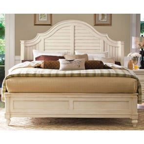 Paula Deen Home Steel Magnolia Bed in Linen Finish