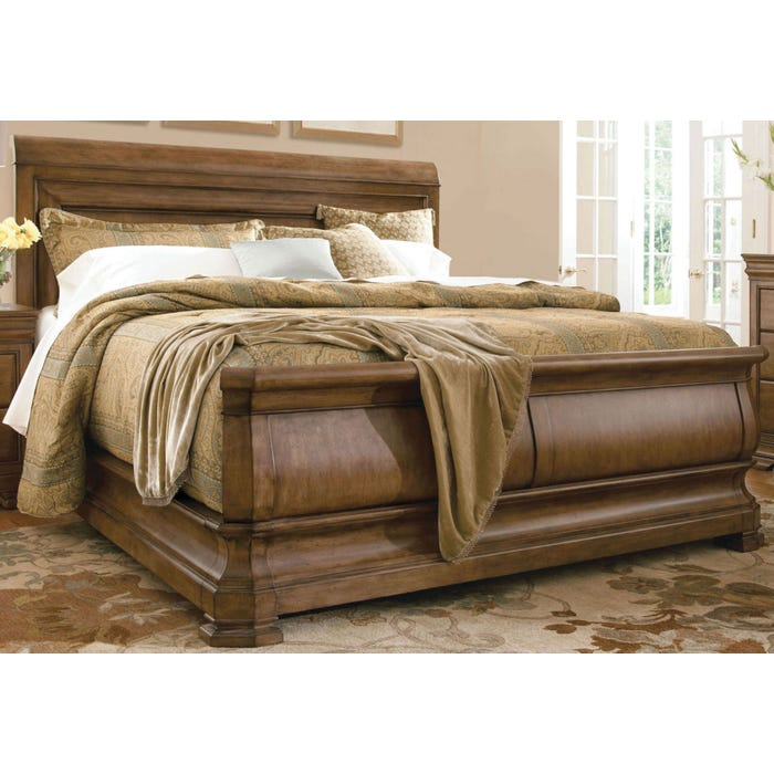 Universal Pennsylvania New Lou P Sleigh Bed Cognac 1 Jpg Width 700 Height Canvas Quality 80 Bg Color 255 Fit Bounds