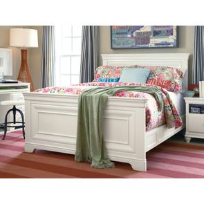 Universal Smartstuff Classics 4.0 Full Size Panel Bed in Summer White