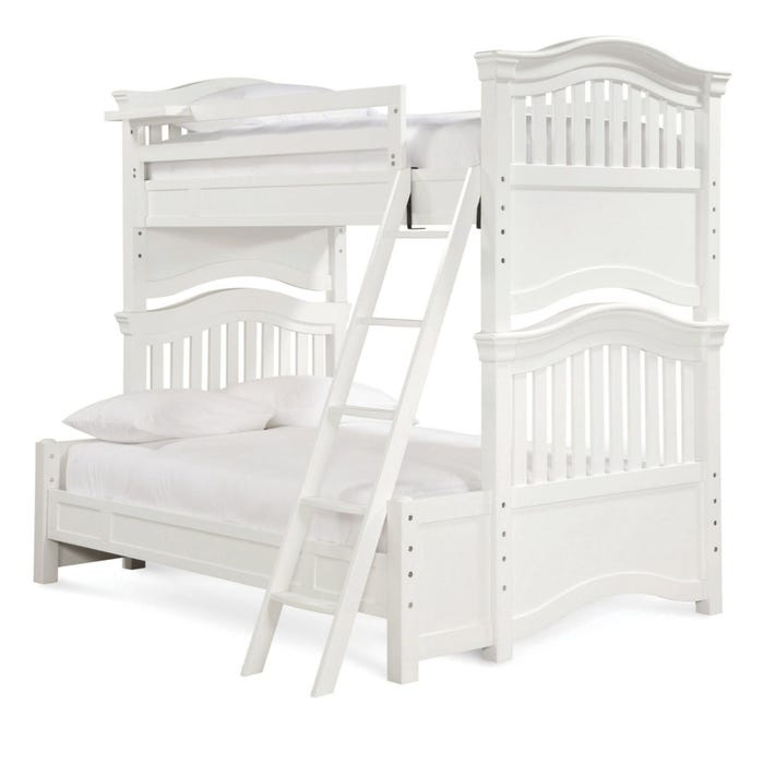 Universal Smartstuff Clics 4 0 Twin Over Full Bunk Bed With Trundle In Summer White