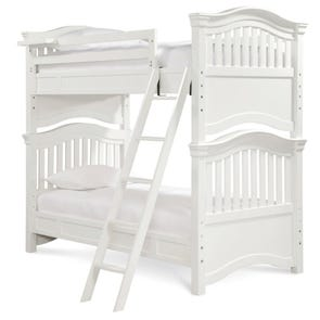 Universal Smartstuff Classics 4.0 Twin Size Bunk Bed with Trundle in Summer White