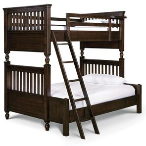 Universal Smartstuff Paula Deen Kids Guys Twin Over Full Size Bunk Bed