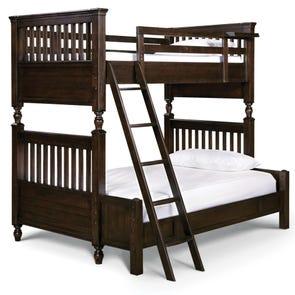 Universal Smartstuff Paula Deen Kids Guys Twin Over Full Size Storage Bunk Bed