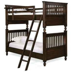 Universal Smartstuff Paula Deen Kids Guys Twin Size Bunk Bed with Trundle