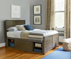Universal Smartstuff Varsity Full Size Reading Storage Bed