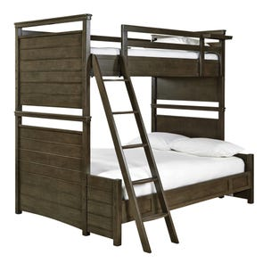 Universal Smartstuff Varsity Twin Over Full Size Bunk Bed with Trundle