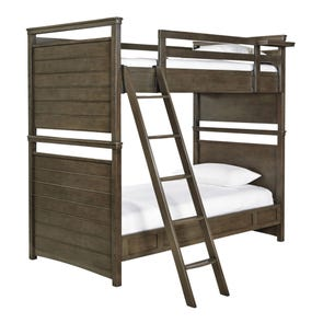 Universal Smartstuff Varsity Twin Size Bunk Bed with Trundle