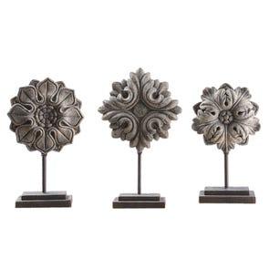 Uttermost Alanna Mirrored Candleholders Set of 2