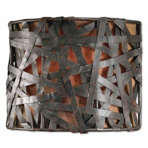 Uttermost Alita 1 Light Wall Sconce in Antique Silver