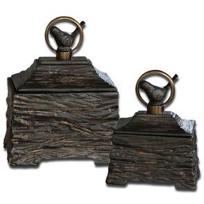 Uttermost Bayard Bronze Candleholder