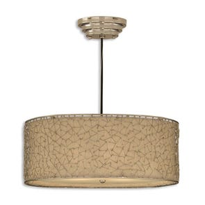 Uttermost Brandon 3 Light Hanging Shade in Dark Brown