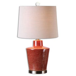 Uttermost Bucciano Textured Ceramic Table Lamp