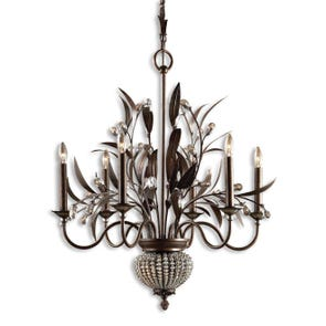 Uttermost Cristal De Lisbon 2 Light Wall Sconce