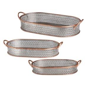Uttermost Essie Pale Gray Bowls Set of 2