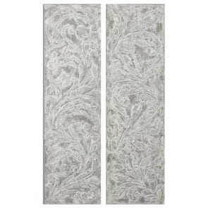Uttermost Four Leaves Plaque Wall Decor