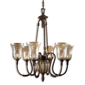 Uttermost Galeana 3 Light Chandelier