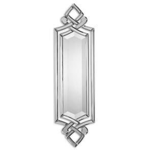 Uttermost Franklin Oval Silver U Mirror
