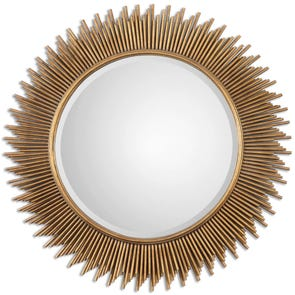 Uttermost Leron Distressed Bronze Mirror