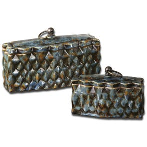 Uttermost Melani Decorative Boxes Set of 2